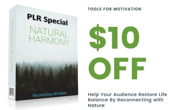 Reconnect with Nature Self Help PLR
