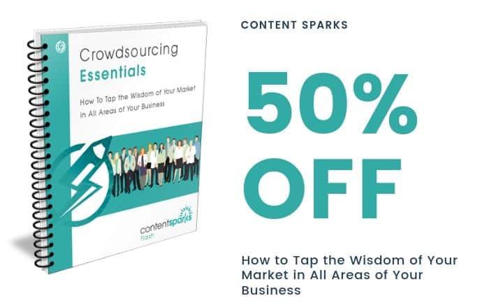crowdsourcing essentials 50% off