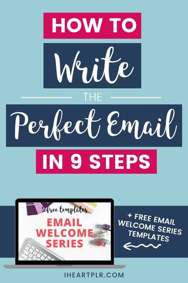 how to write the perfect email in 9 steps