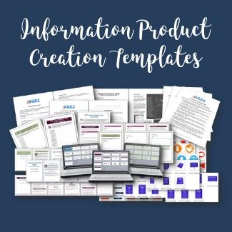 information product creation templates