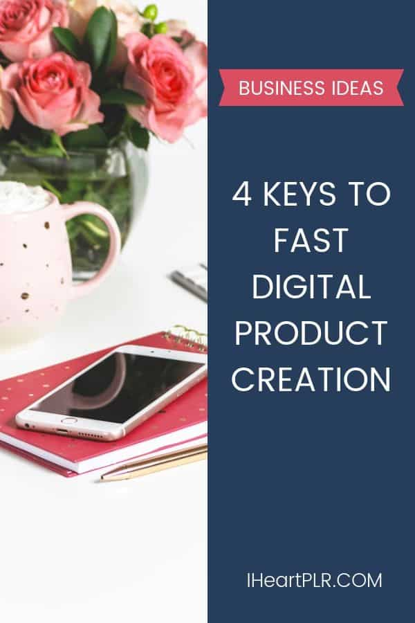 Keys to Fast Information Product Creation