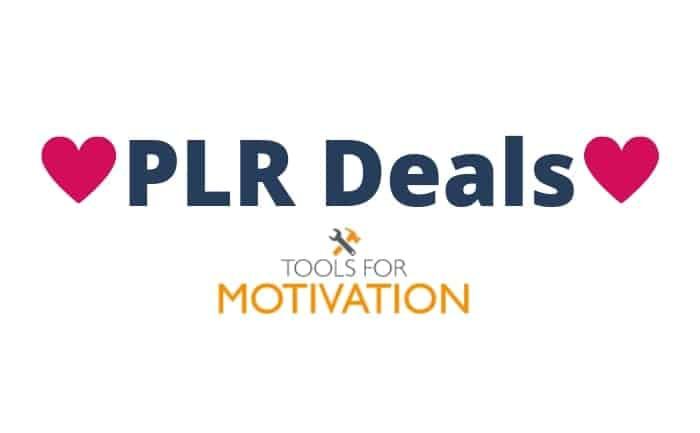 tools for motivation plr deals 2019-08