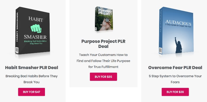 tools for motivation plr deals