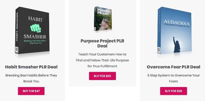 tools for motivation plr deals